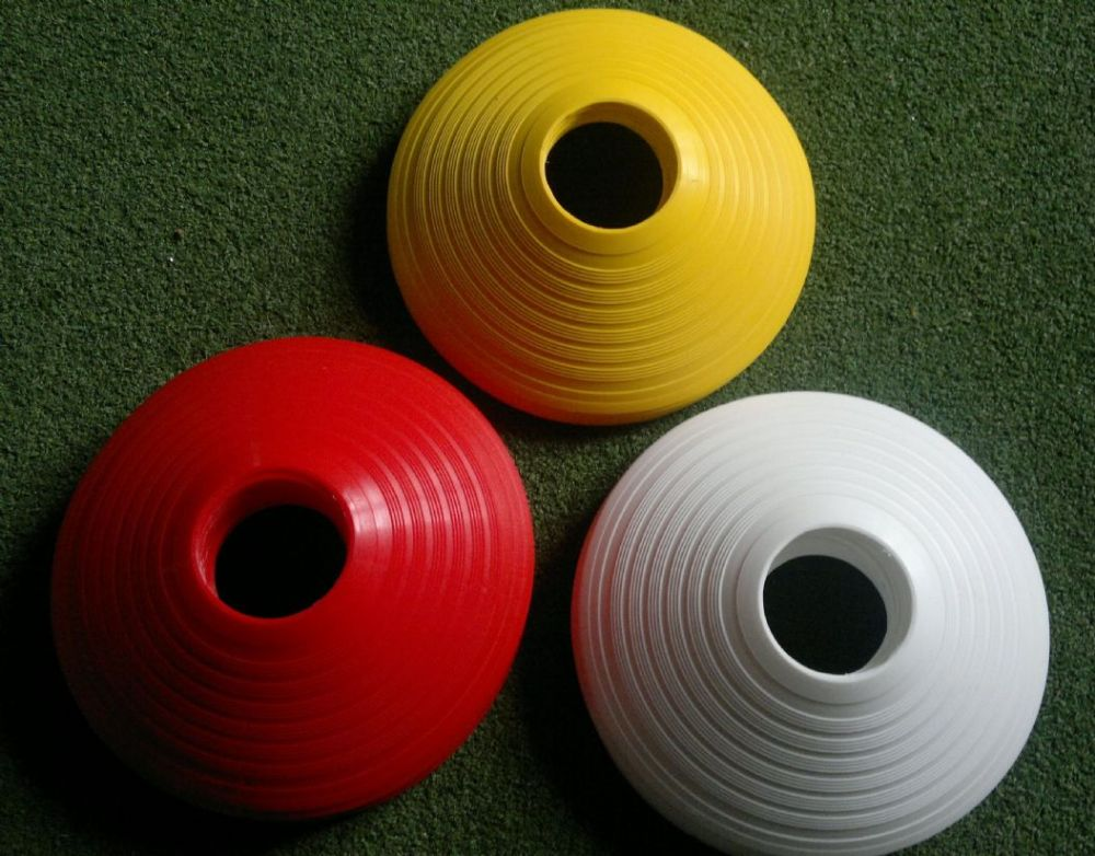 RED / YELLOW / WHITE  Assorted pitch markers set